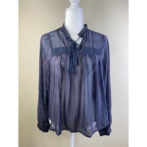 Lucky brand blouse nwt